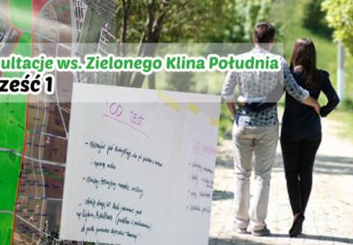 """Konsultacje """"Zielony Klin"""" cz.1"""