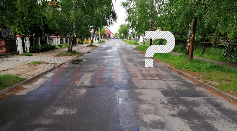 """Ulica Nenckiego pełna """"przygód""""."""
